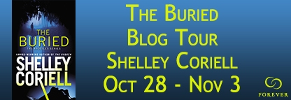 THE BURIED a Romantic Suspense novel by Shelley Coriell, published by Grand Central Forever.