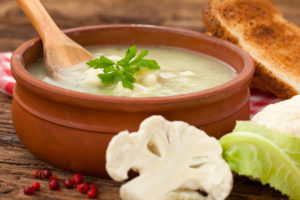 Creamy Cauliflower Potato Soup