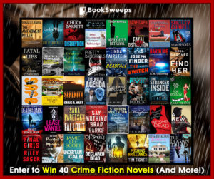 Booksweeps Crime Fiction Books Summer Giveaway
