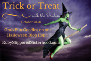 Ruby Blog Hop Halloween Giveaway Logo
